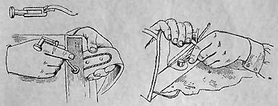 переставить отверстия задних концов наплечных ремней в стопорных болтах