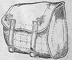 Уложенная продуктовая сумка