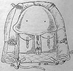 Уложенный ранец обр.1941г.