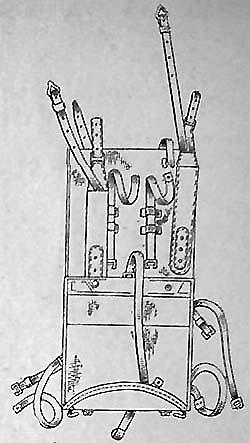 Ранец обр. 1938 г. (вид сзади)