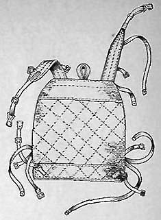 Облегченный ранец обр. 1941 г. (вид сзади)