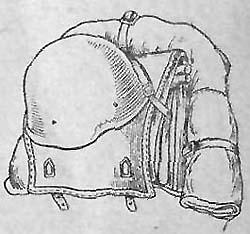 Уложенный ранец обр. 1936 г.
